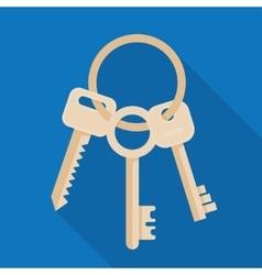 Bunch three keys vector