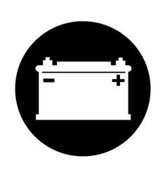 car battery icon design vector image
