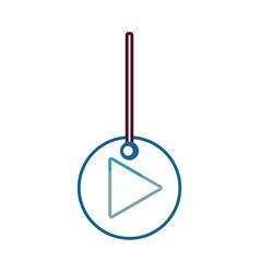 Decorative pendant vector