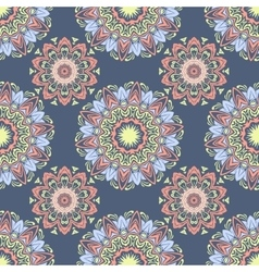 Ethnic floral seamless pattern4 vector