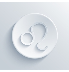 modern signs of the zodiac Circle icon vector image