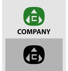 B Letter Logo Icon Design template Element vector image