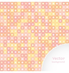 background squares vector image