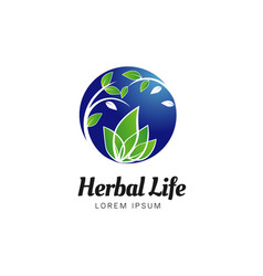 herbal life logo sign symbol icon vector image