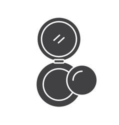 Powder glyph icon vector