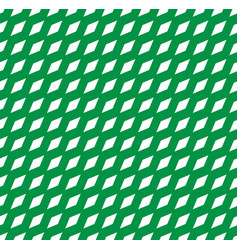 simple seamless pattern with tilted rhombus vector image