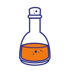 Spa oil bottle vector