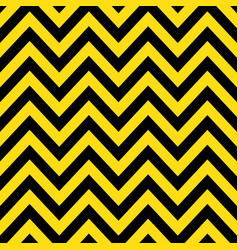 yellow black chevron retro decorative pattern vector image