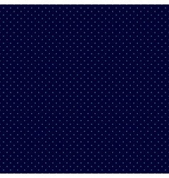 Blue Dots Navy Background vector image vector image