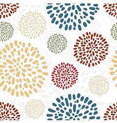 Peony seamless pattern vector