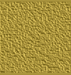 abstract bump golden background from many circles vector image vector image