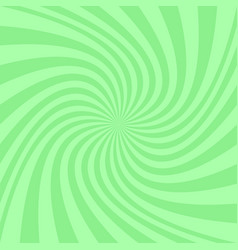 Green abstract spiral background - design vector