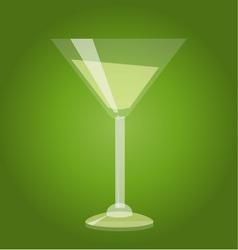 Martini glass vector image