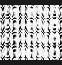 abstract halftone seamless pattern background vector image