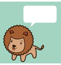 Lion Talk vector