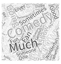 Seattle Laughter is Good Medicine Word Cloud vector