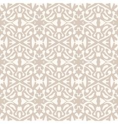 Simple elegant lace pattern in art deco style vector