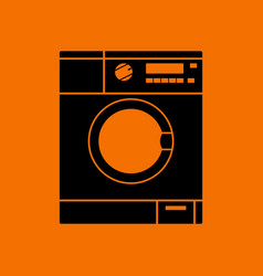 washing machine icon vector image