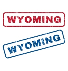 Wyoming Rubber Stamps vector