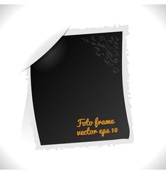 Vintage Foto Frame vector image vector image