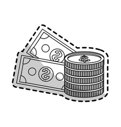 cash money icon image vector image vector image