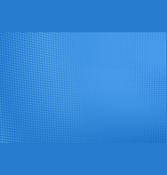 abstract bright blue dotted gradient background vector image