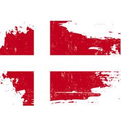 Denmark scratched flag vector