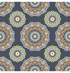 Ethnic floral seamless pattern6 vector