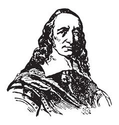 Governor peter stuyvesant vintage vector