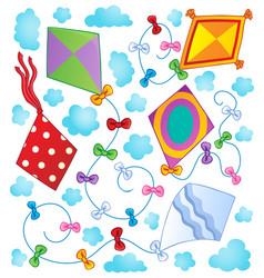 Kites theme image 1 vector