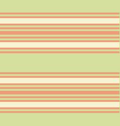 retro pastel green and orange horizontal stripes vector image