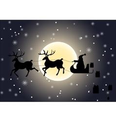 Santa Claus giving gifts vector
