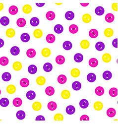 seamless pattern with colorful violet vector image