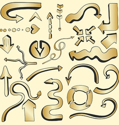 Arrows7 vector image