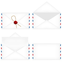 Envelope set vector image vector image