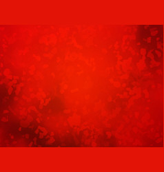 Artistic red background forming by abstract shapes vector
