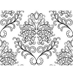 damas pattern vector image