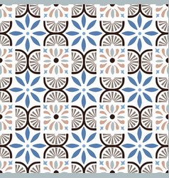 hand drawn stars shaped moroccan seamless pattern vector image