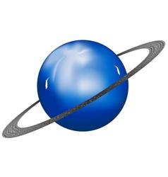 Uranus planet vector