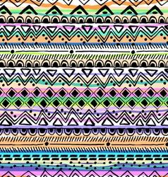 tribal stripe seamless print vector image vector image