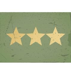 grStar sign grunge background vector image vector image