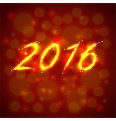Happy new year 2016 concept vector image vector image