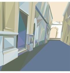 02 Polygonal Street vector