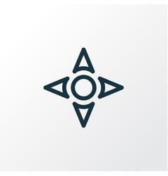 controller outline symbol premium quality vector image