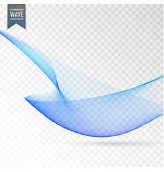 Elegant blue transparent background design vector