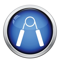 Hands expander icon vector image vector image