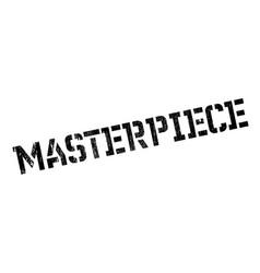 Masterpiece rubber stamp vector
