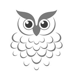 Owl Abstract bird vector