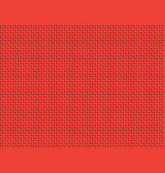 red fabric canvas wallpaper vector image