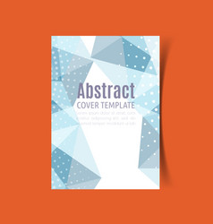 Report cover design 4 vector